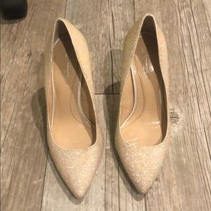 Vince Camuto heels, worn once. Size 7.5